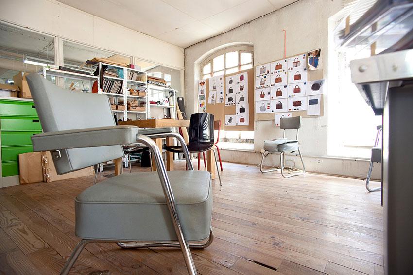 Atelier 2 - Le Cabas Français fabriqués en France - Mazamet